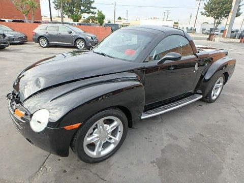 speedy pickup 2004 Chevrolet SSR Repairable for sale