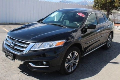 well equipped 2014 Honda Crosstour EX L repairable for sale