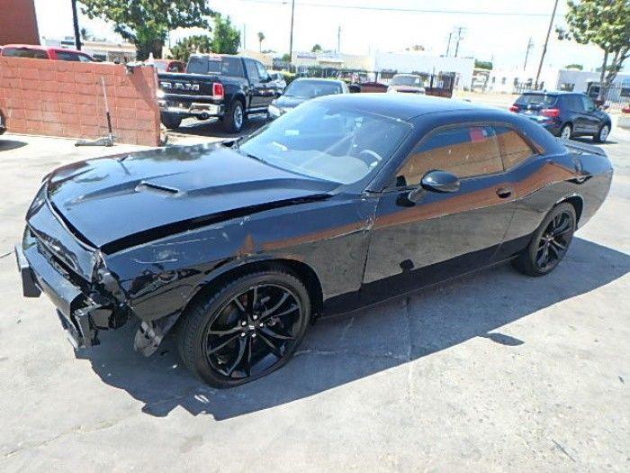 almost unused 2018 Dodge Challenger SXT Repairable