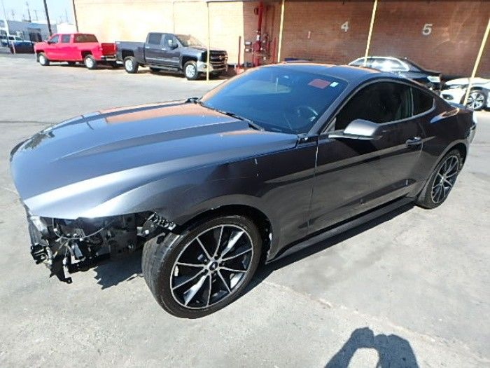 loaded 2016 Ford Mustang EcoBoost repairable