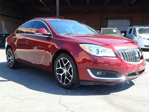 loaded 2017 Buick Regal Sport Touring repairable for sale