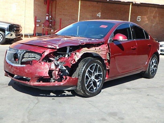 loaded 2017 Buick Regal Sport Touring repairable