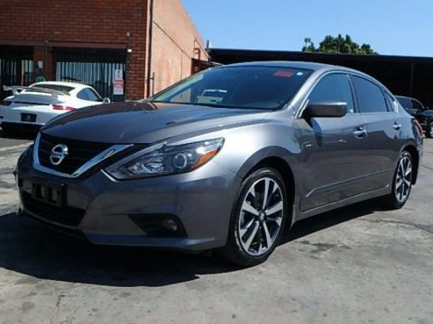 loaded 2017 Nissan Altima Sedan 4 DR repairable for sale