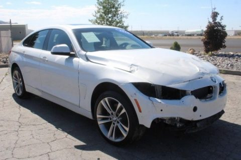 low mileage 2018 BMW 4 Series 430i Xdrive Gran Coupe Repairable for sale
