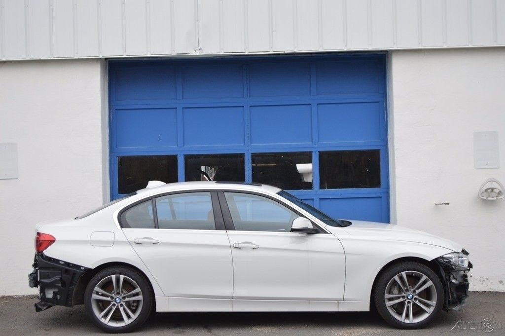 low miles 2016 BMW 3 Series 340i xDrive repairable