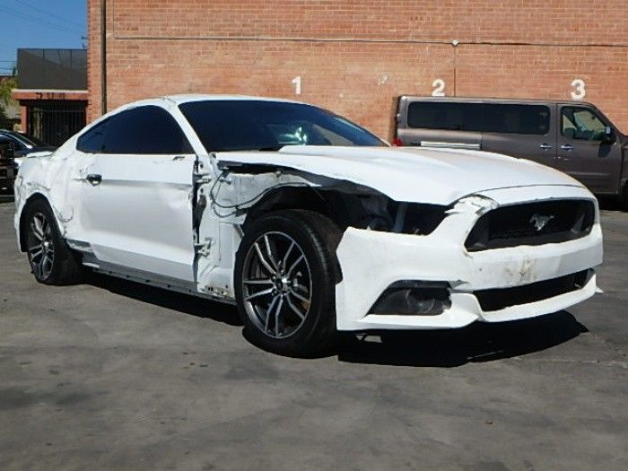low miles 2017 Ford Mustang GT Fastback repairable