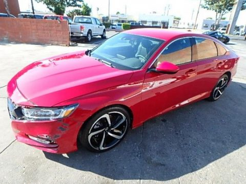 low miles 2018 Honda Accord Sport Repairable for sale