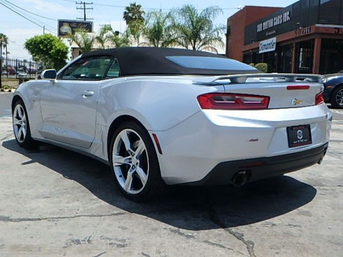 very low miles 2017 Chevrolet Camaro Convertible SS repairable