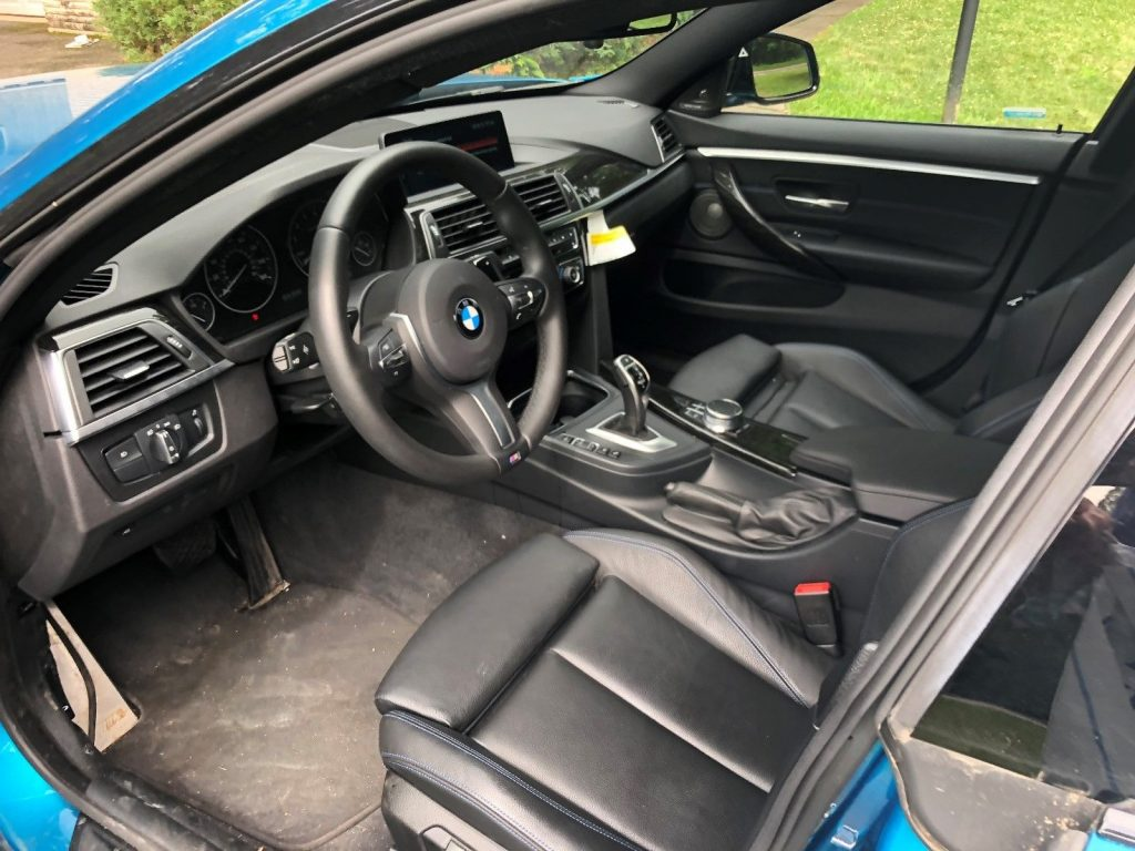 very low miles 2018 BMW 4 Series 430i repairable