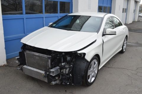 well equipped 2015 Mercedes Benz CLA Class CLA 250 repairable for sale