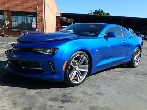 well equipped 2017 Chevrolet Camaro LT w/1LT repairable for sale
