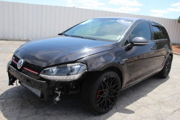 well equipped 2017 Volkswagen Golf GTI repairable