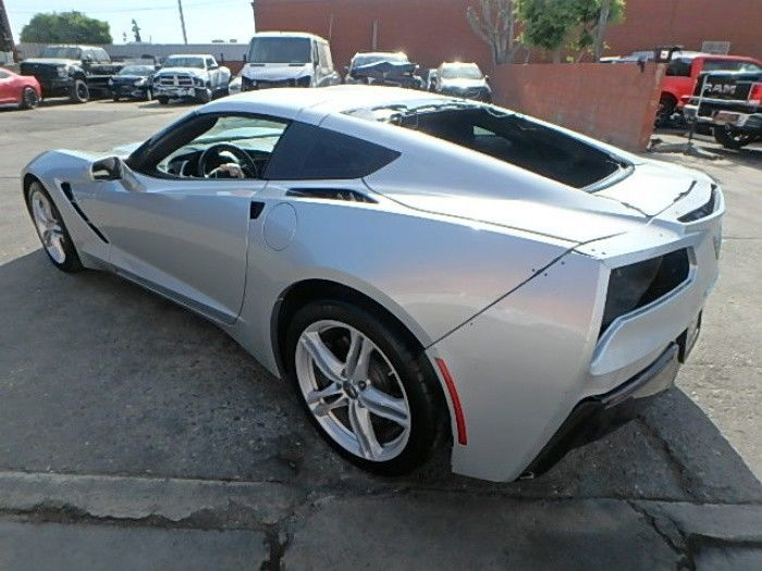 low miles 2016 Chevrolet Corvette LT Repairable