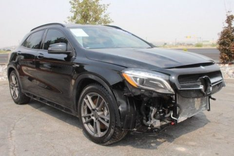 low miles 2016 Mercedes Benz GL Class Gla45 AMG 4MATIC repairable for sale