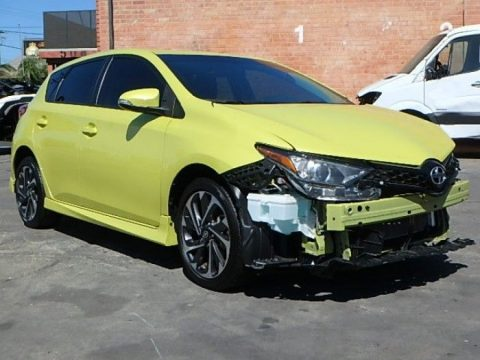low miles 2016 Scion iM 6M repairable for sale