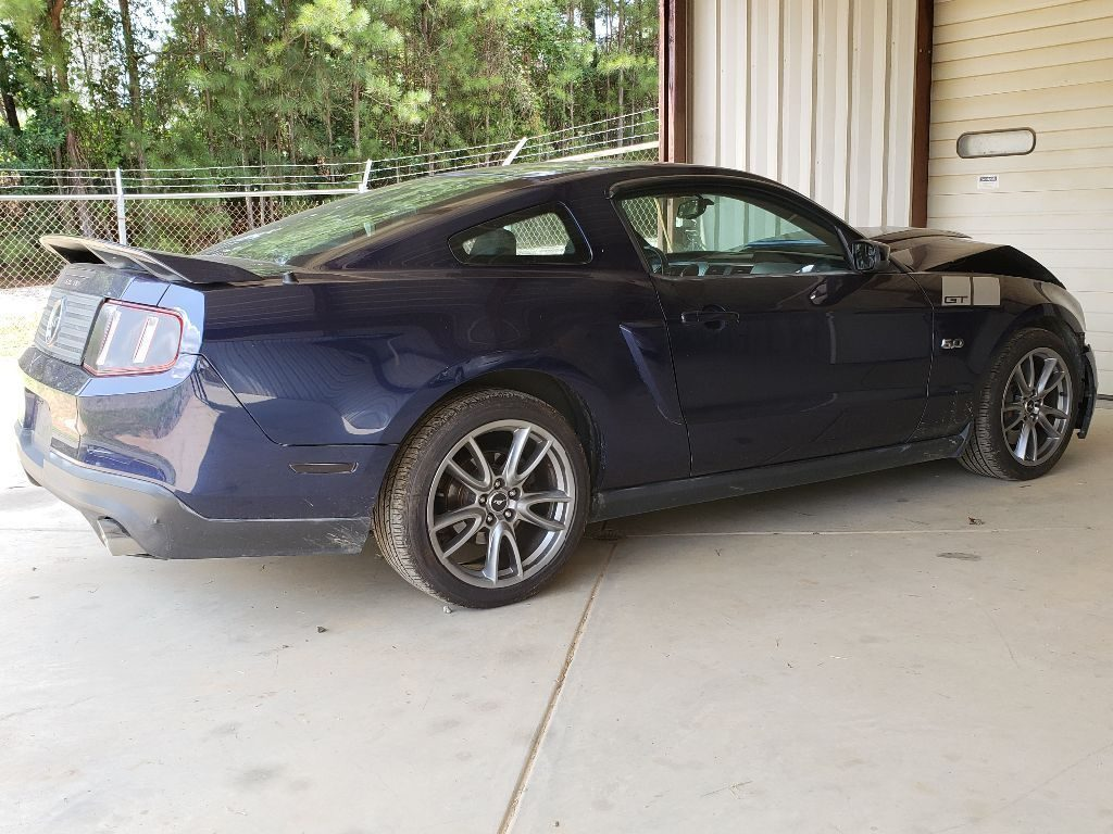low miles engine 2011 Ford Mustang GT Coupe repairable