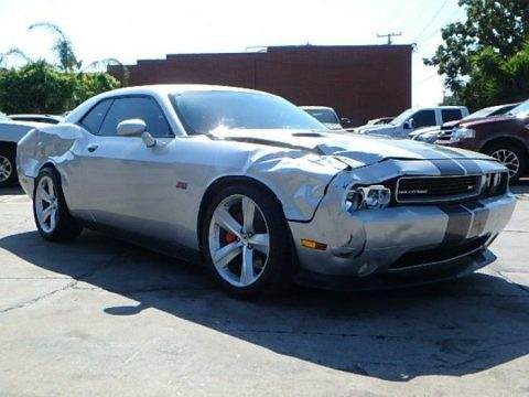 easy damage 2012 Dodge Challenger SRT8 repairable for sale