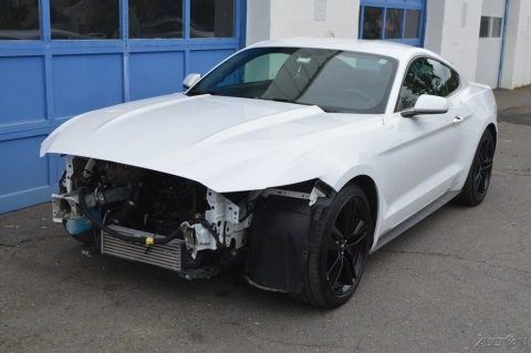 easy fix 2015 Ford Mustang EcoBoost repairable for sale