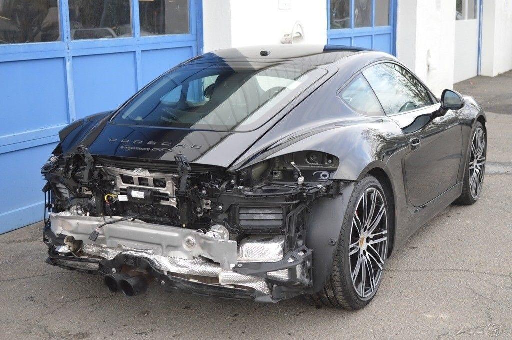 easy fix 2016 Porsche Cayman GTS Repairable