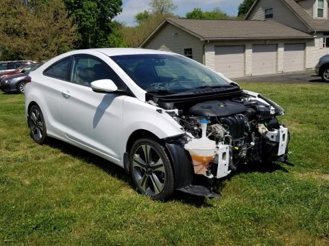 loaded 2014 Hyundai Elantra COUPE repairable for sale
