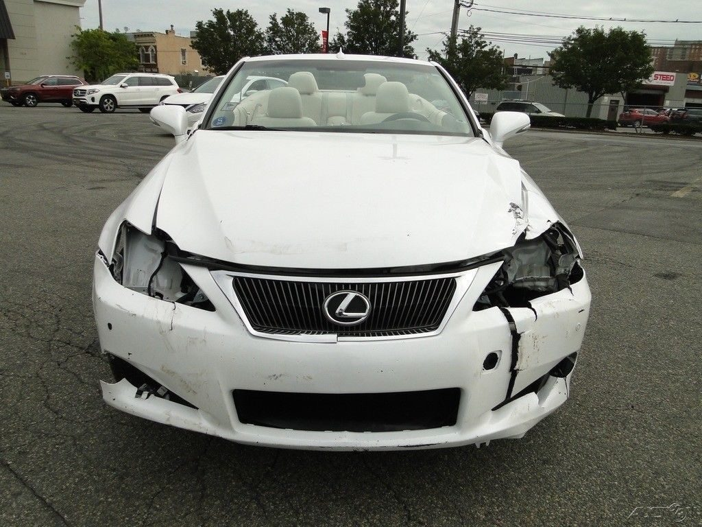 low mileage 2010 Lexus IS Repairable