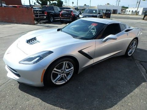 low miles 2016 Chevrolet Corvette LT Damaged Repairable for sale
