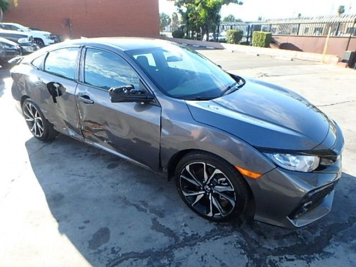 almost unused 2018 Honda Civic Si repairable