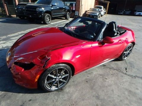 classic 2016 Mazda MX 5 Miata Grand Touring repairable for sale