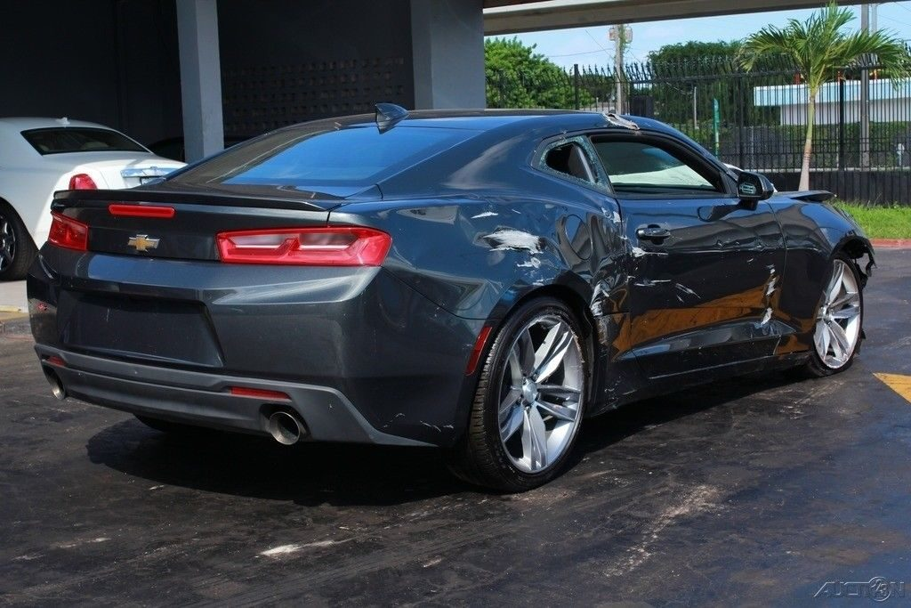 easy damage 2018 Chevrolet Camaro LT repairable