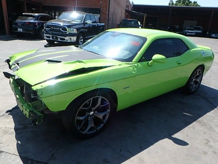 loaded 2015 Dodge Challenger R/T repairable