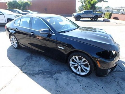 low mileage 2016 BMW 5 Series 535i Xdrive AWD repairable for sale