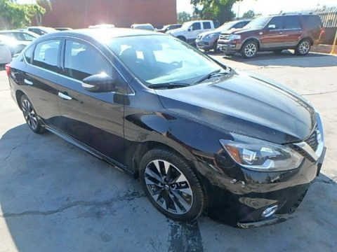 low miles 2016 Nissan Sentra SR repairable for sale