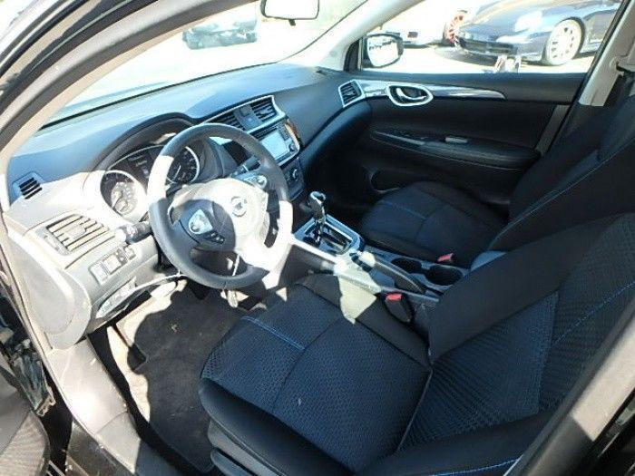 low miles 2016 Nissan Sentra SR repairable