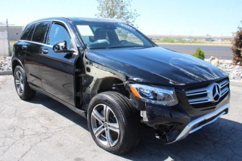 low miles 2017 Mercedes Benz GL Class GLC 300 repairable for sale