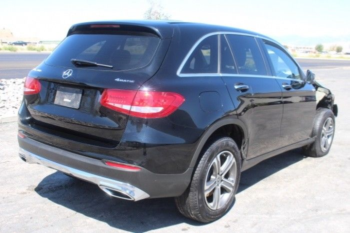 low miles 2017 Mercedes Benz GL Class GLC 300 repairable