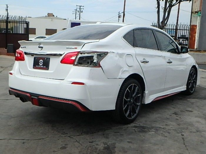 low miles 2017 Nissan Sentra SR Turbo CVT repairable