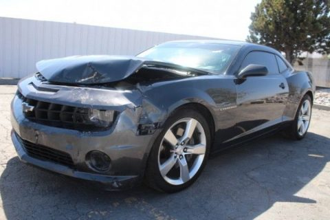 well equipped 2012 Chevrolet Camaro 2SS repairable for sale
