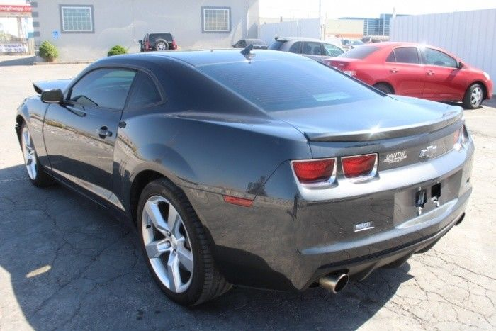 well equipped 2012 Chevrolet Camaro 2SS repairable
