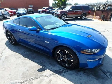 well equipped 2018 Ford Mustang GT repairable for sale