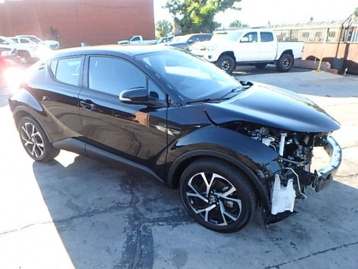 well equipped 2018 Toyota C HR XLE repairable