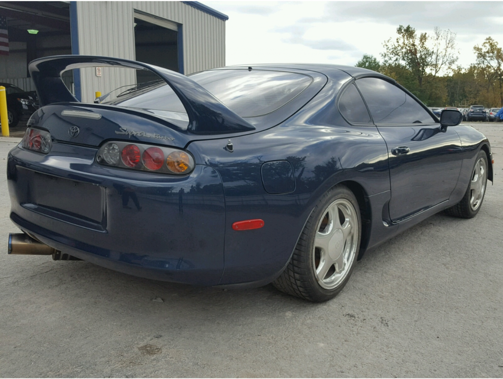 converted 1993 Toyota Supra MK4 Turbo Repairable