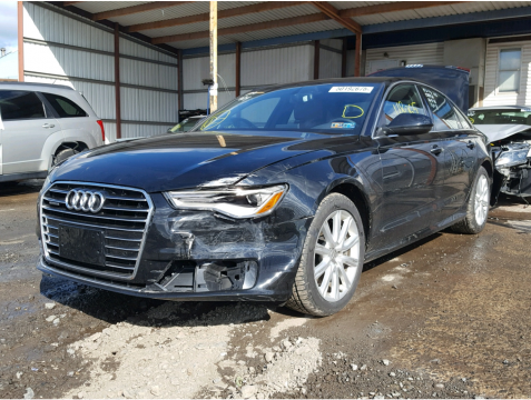 fully loaded 2016 Audi A6 2.0T Premium Plus quattro Repairable for sale
