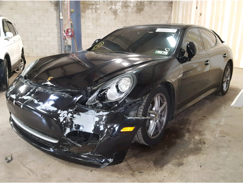 loaded 2011 Porsche Panamera repairable