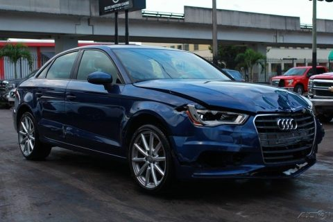 loaded 2015 Audi A3 1.8T Premium Repairable for sale