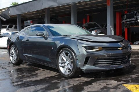 loaded 2017 Chevrolet Camaro LT Coupe repairable for sale