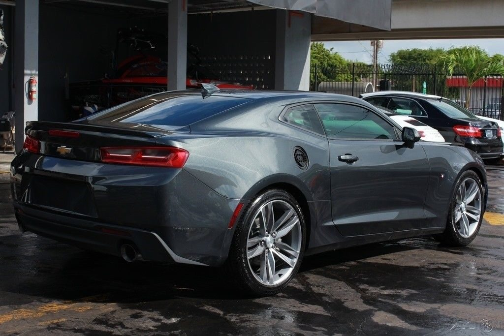 loaded 2017 Chevrolet Camaro LT Coupe repairable