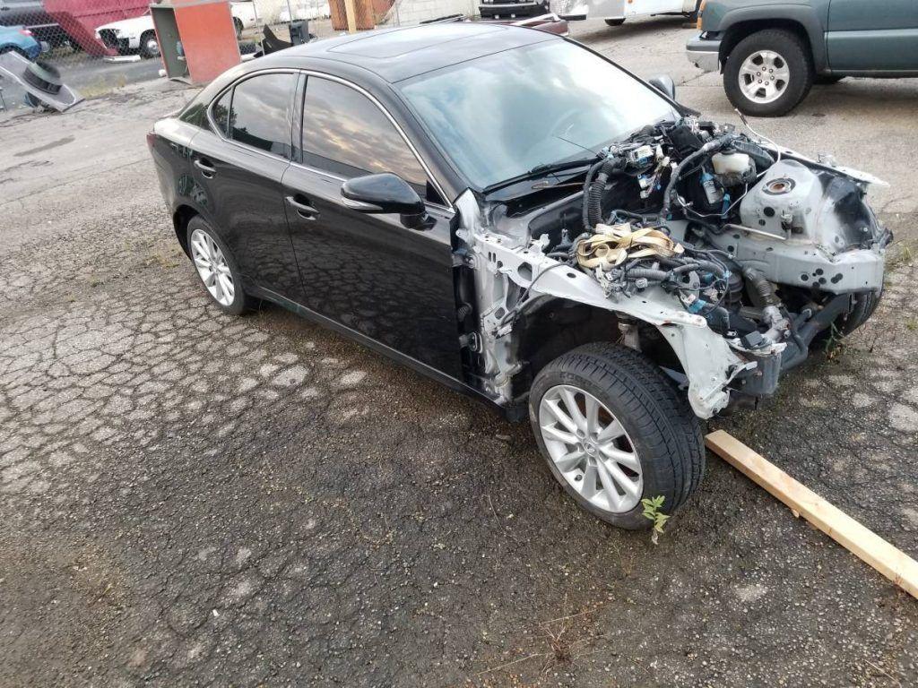 project 2010 Lexus IS 250 Sport Sedan repairable