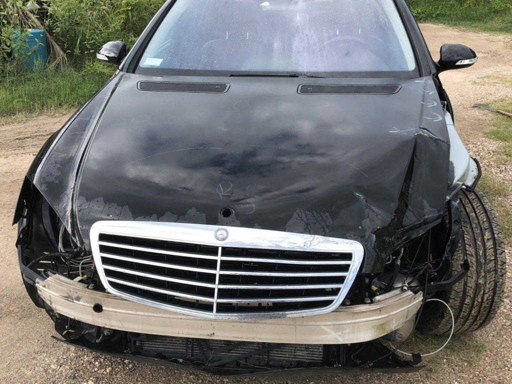 very clean 2007 Mercedes Benz S Class repairable