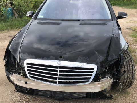 very clean 2007 Mercedes Benz S Class repairable for sale