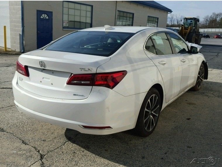 well optioned 2015 Acura TLX SH AWD repairable